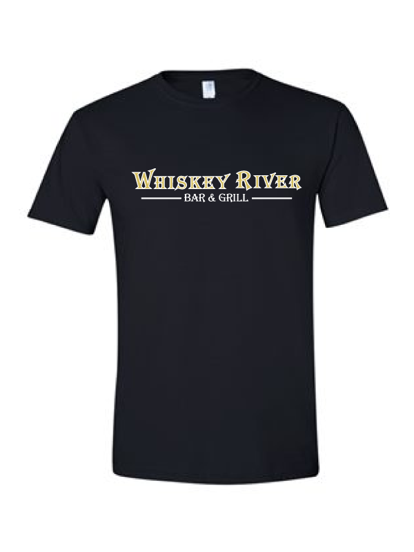 Whiskey River T-Shirt (Multiple Colors Available)