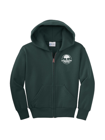 Discovery Day Camp Full-Zip Hoodie (Multiple Colors)