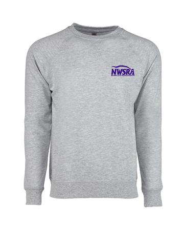 NWSRA FULL TIME STAFF Next Level Unisex French Terry Raglan Crew