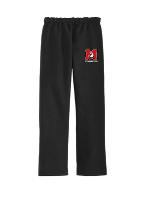 MHS Gymnastics Open-Bottom Sweatpants