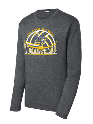 Lake Forest Volleyball Performance Long Sleeve (Multiple Colors Available)