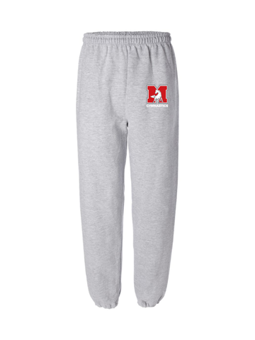 MHS Gymnastics Closed-Bottom Sweatpants