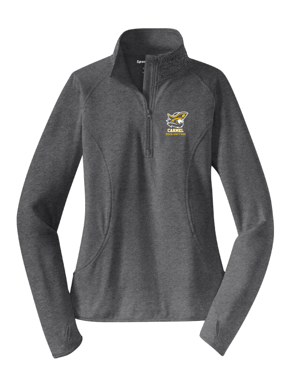 CARMEL HS TRACK & FIELD LADIES Sport-Wick® Stretch 1/2-Zip Pullover