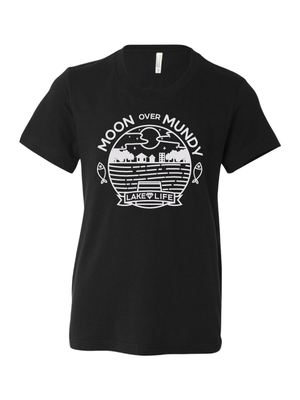 Moon Over Mundy Youth T-Shirt (Multiple Colors Available)