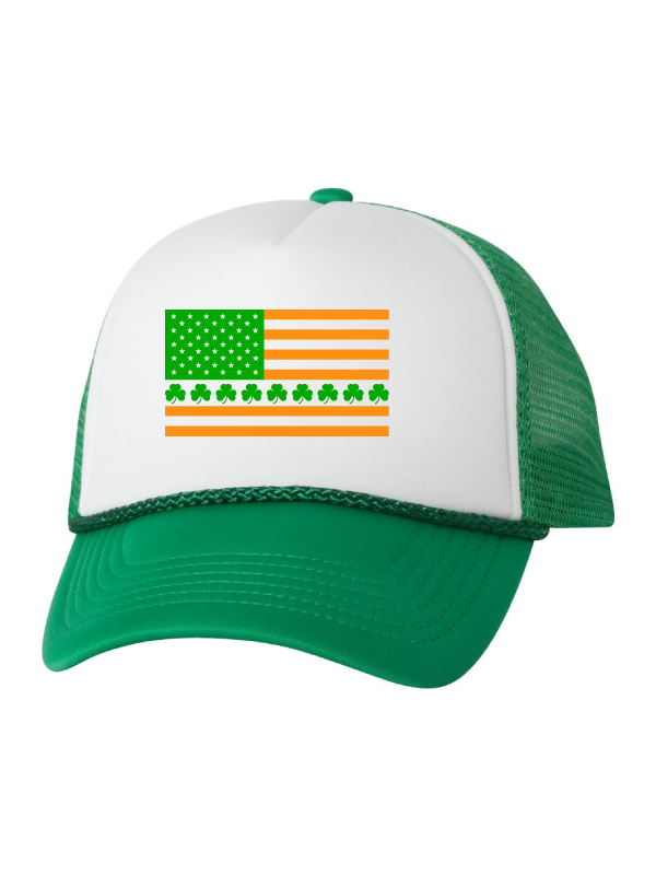 Irish American Flag Hat