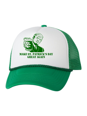 Irish America Was Great Again Hat