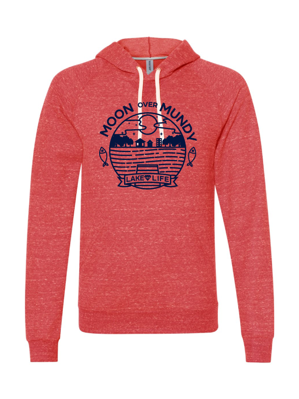 Moon Over Mundy Pullover Hoodie (Multiple Colors Available)