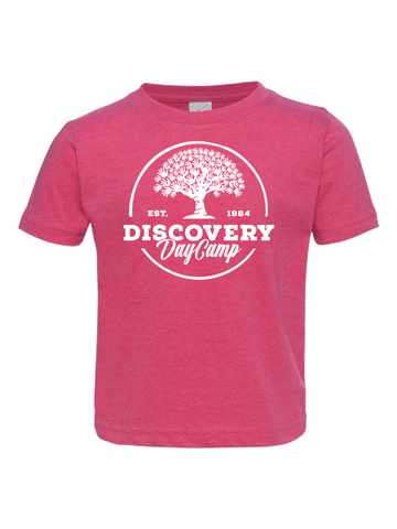 Discovery Day Camp Toddler Tee (Multiple Colors)