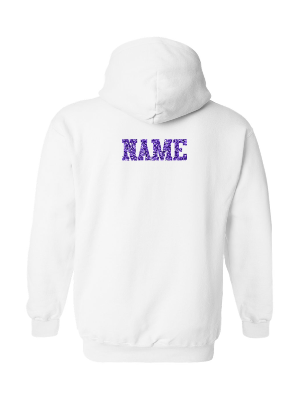 Wauconda Cheer White Hoodie (Youth & Adult)