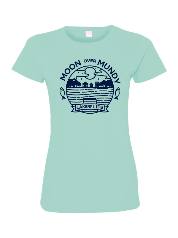 Moon Over Mundy Womens T-Shirt (Multiple Colors Available)