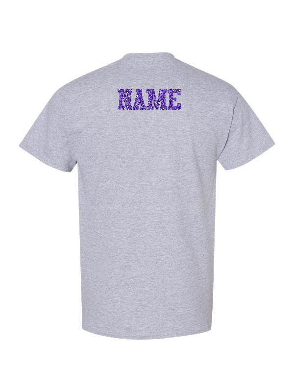 Wauconda Cheer Grey T-Shirt (Youth & Adult)