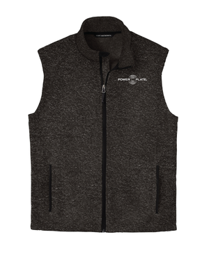 Power Plate Sweater Fleece Vest (Mens & Womens)