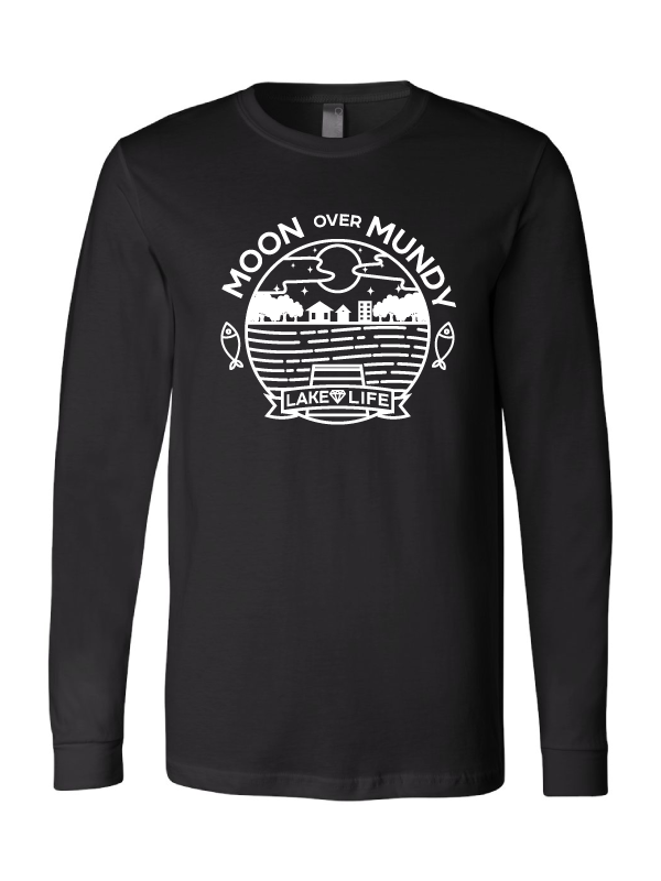 Moon Over Mundy Unisex  Long Sleeve T-Shirt (Multiple Colors Available)