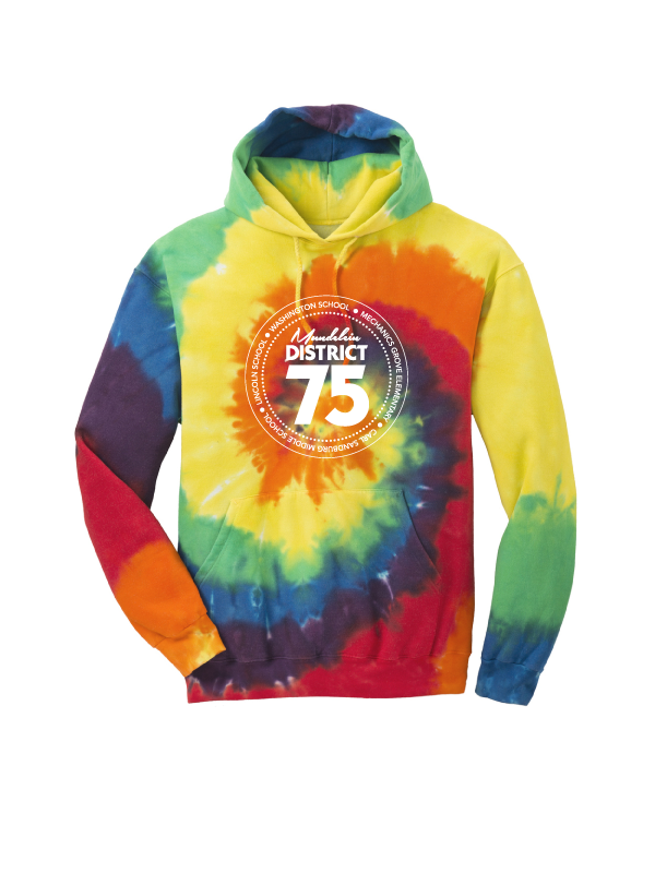 District 75 Tie-Dye Hoodie