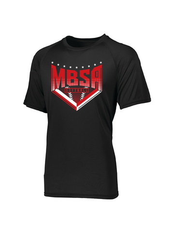 MBSA Softball Performance T-Shirt