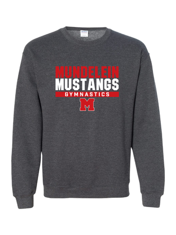 MHS Gymnastics Crewneck Sweatshirt (2 Logo Options)