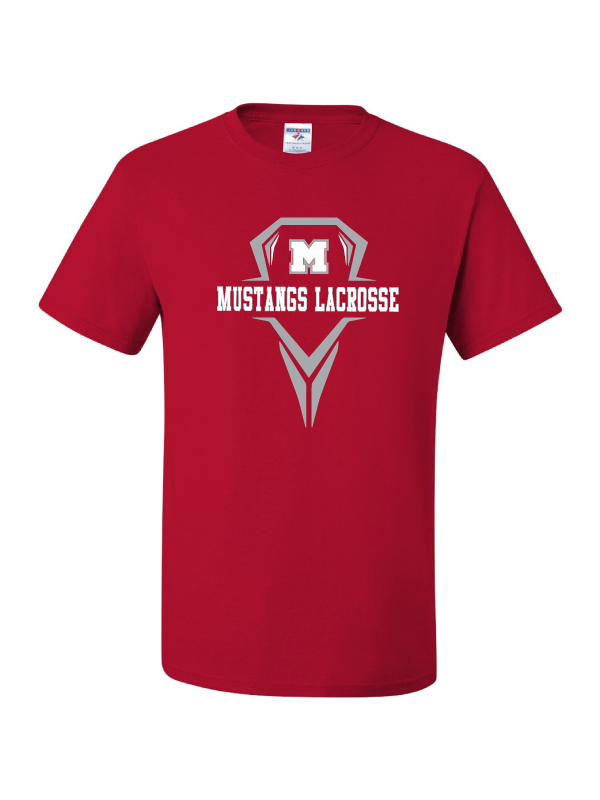 MHS Lacrosse Red T-Shirt