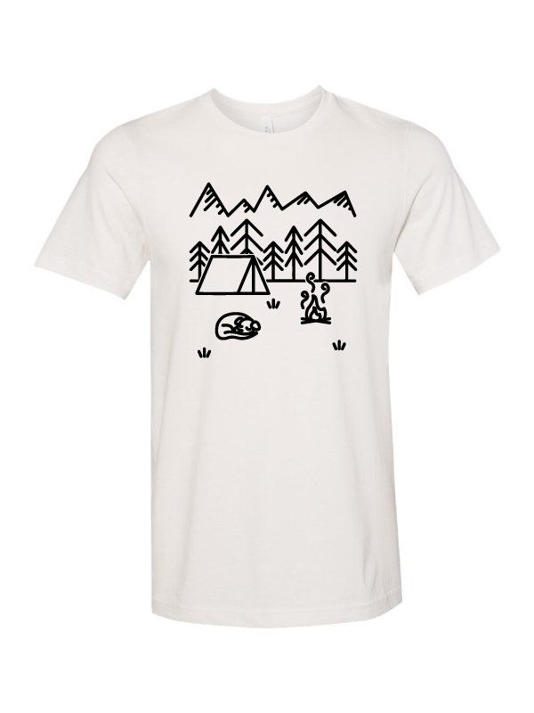 The Great Outdoors Short Sleeve Tee by Stephanie Waldschmidt