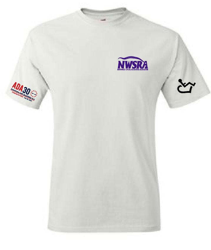 NWSRA CELEBRATES THE ADA Tagless 100% Cotton T-Shirt