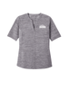 NWSRA FULL TIME STAFF Ladies Stretch Heather Open Neck Top