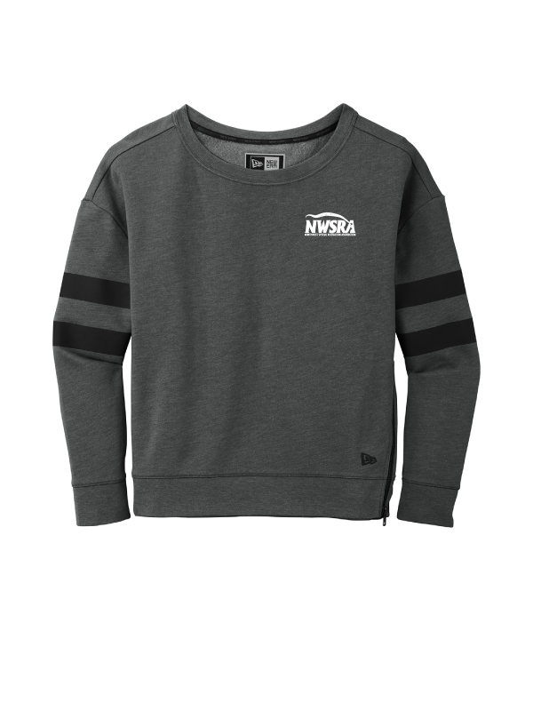 NWSRA FULL TIME STAFF New Era ® Ladies Tri-Blend Fleece Varsity Crew