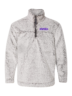 NWSRA FULL TIME STAFF SHERPA 1/4 ZIP (EMBROIDERY)  ADULT