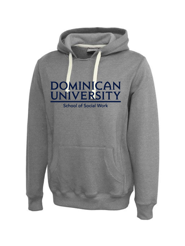 DOMINICAN UNIVERSITY Unisex Throwback Hoodie