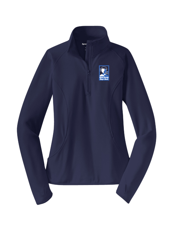 LAKE COUNTY BOYS CHOIR Ladies Sport-Wick® Stretch 1/2-Zip Pullover  (LADIES)