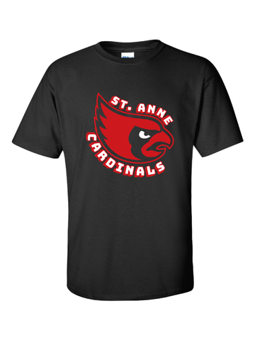 ST ANNE SCHOOL SPIRIT WEAR ADULT ULTRA COTTON SHORT SLEEVE TEE