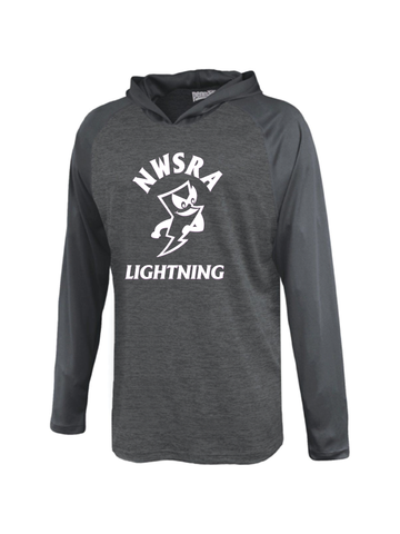 NWSRA LIGHTNING ADULT STRATOS PERFORMANCE TEE SHIRT HOODIE