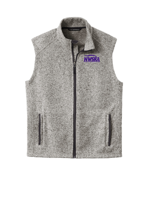 NWSRA FULL TIME STAFF Sweater Fleece Vest  (EMBROIDERED)