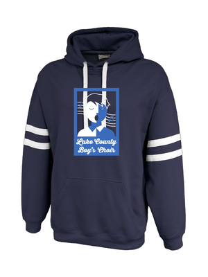 LAKE COUNTY BOYS CHOIR  ADULT TWIN STREAK HOODIE