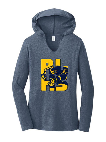 RLHS STAFF Ladies Perfect Tri ® Long Sleeve Hoodie