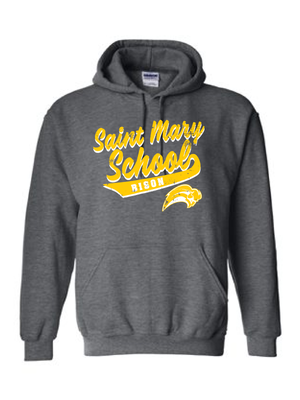 Saint Mary Fall 2020  Heavy Blend™ 8 oz., 50/50 Hood  **ADULT**   LOGO 2