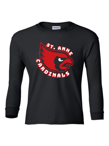 ST ANNE SCHOOL SPIRIT WEAR YOUTH ULTRA COTTON LONG SLEEVE TEE