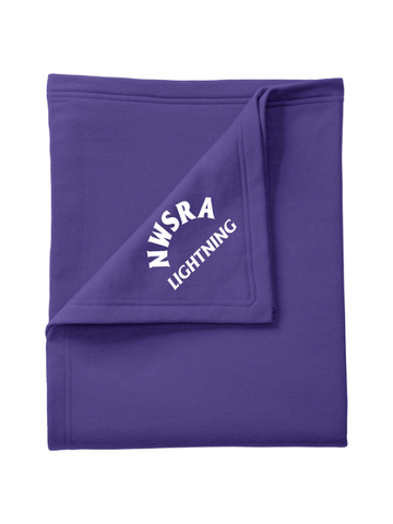 NWSRA LIGHTNING CORE FLEECE SWEATSHIRT BLANKET