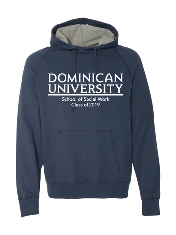 DOMINICAN UNIVERSITY  Adult 7.2 oz. Nano Pullover Hood  (SOFT)