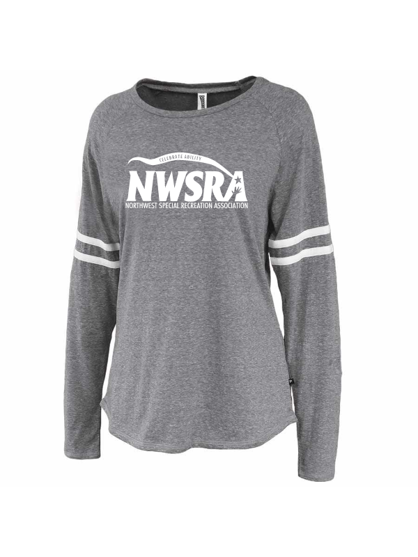 NWSRA FULL TIME STAFF LADIES TRI BLEND STRIPE