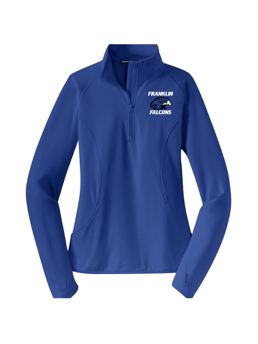 Franklin School LADIES Sport-Wick Stretch 1/2-Zip Pullover