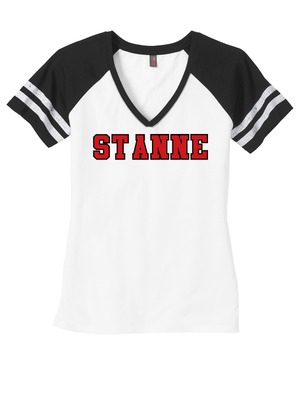 ST ANNE LADIES Game V-Neck Tee