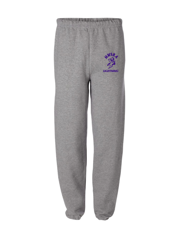 NWSRA LIGHTNING Adult 8 oz. Fleece Sweatpants