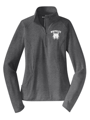 WHITELEY Sport-Wick® Stretch 1/2-Zip Pullover   (LADIES)