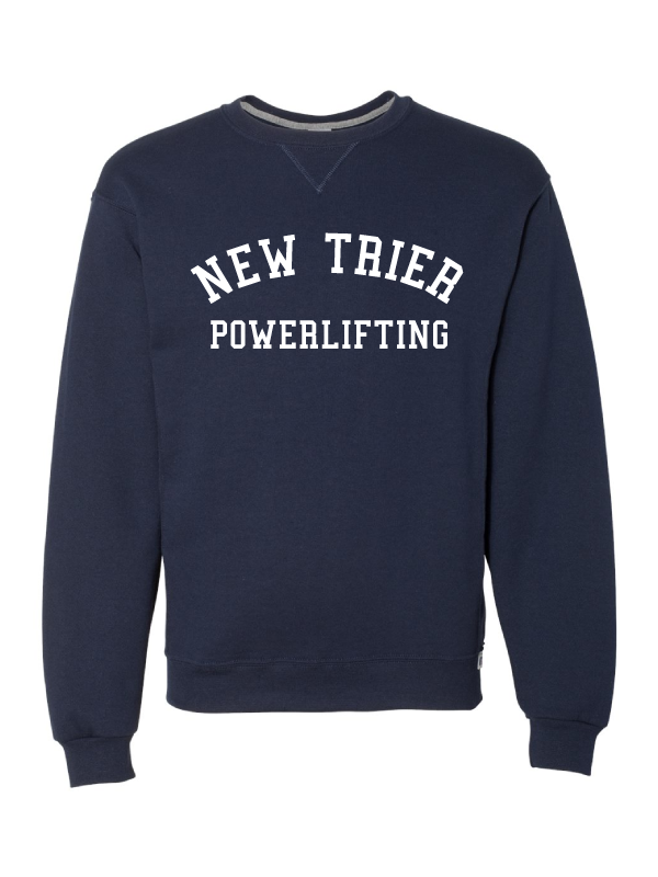 NEW TRIER POWERLIFTING RUSSELL DRI-POWER® FLEECE CREW SWEATSHIRT