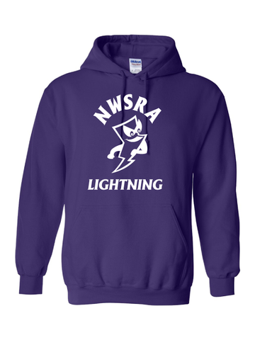 NWSRA LIGHTNING HEAVY BLEND HOODED SWEATSHIRT