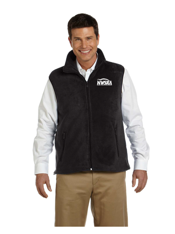 NWSRA FULL TIME STAFF Adult 8 oz. Fleece Vest