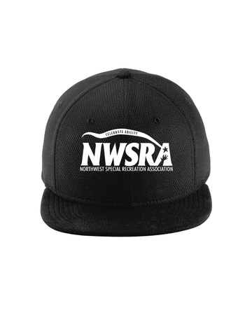 NWSRA FULL TIME STAFF New Era® Original Fit Diamond Era Flat Bill Snapback Ca