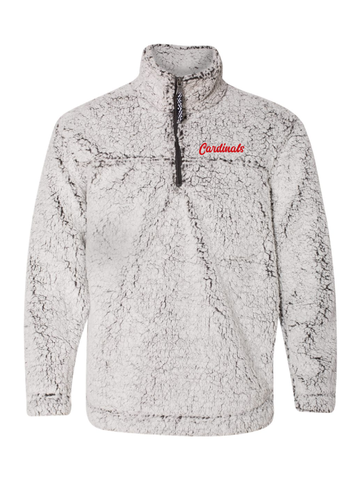 ST ANNE WINTER SHERPA QUARTER ZIP PULLOVER  (YOUTH AND ADULT)