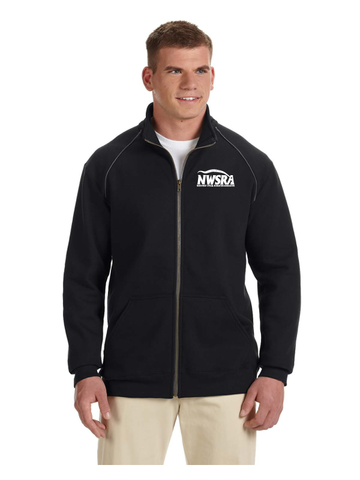 NWSRA FULL TIME STAFF Adult Premium Cotton® Adult 9 oz. Fleece Full-Zip Jacket