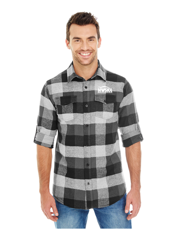 NWSRA FULL TIME STAFF Burnside Men's Plaid Flannel