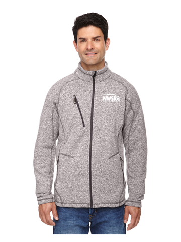 NWSRA FULL TIME STAFF North End Men's Peak Sweater Fleece Jacket